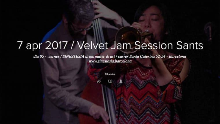 Jam Session del 7 abril 2017