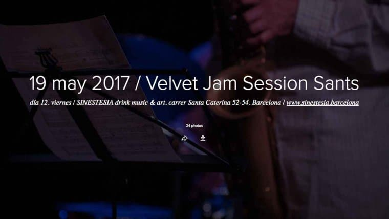 Jam Session del 19 de mayo 2017
