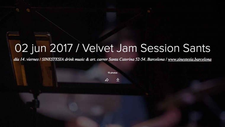 Jam Session del 02 de junio 2017