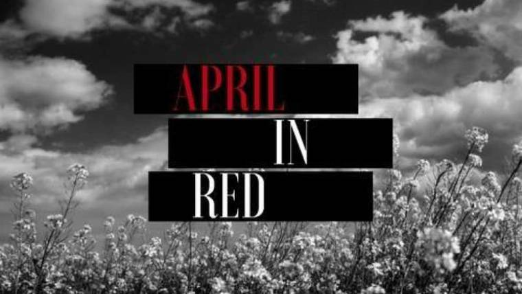 April In Red
