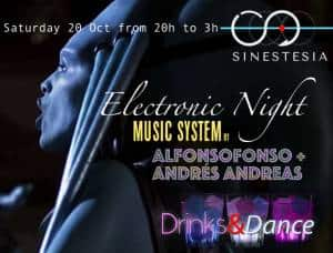 Electronic Night @SINESTESIA, Barcelona, Sants