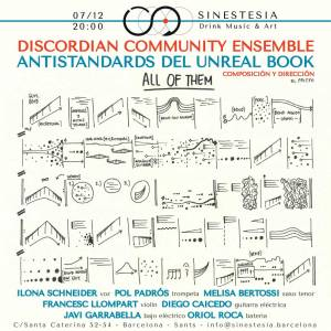 Antistandards del Unreal Book @SINESTESIA, Barcelona, Sants
