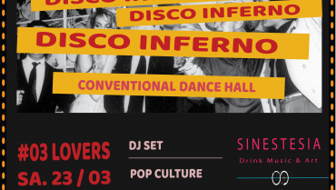 Disco Inferno #3 lovers