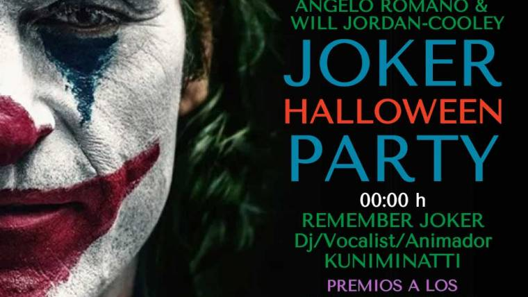 Joker Halloween Party