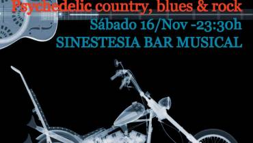 Psychedelic country, blues & rock