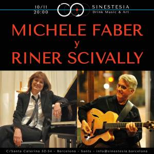 Michele Faber y Riner Scivally @SINESTESIA, Barcelona, Sants
