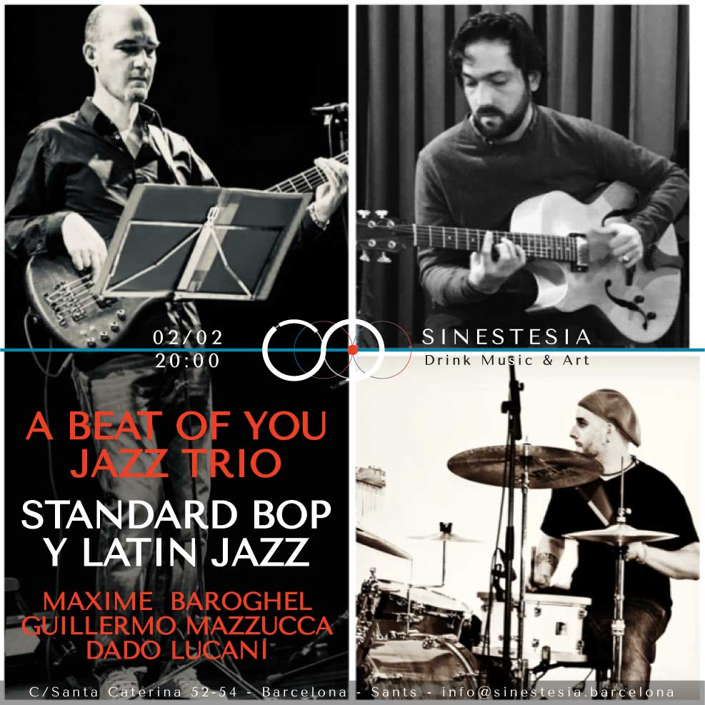 A beat of you jazz trio